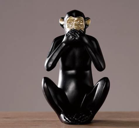 Dekorativnaya statuetka Midzaru Chanshen Skandinavskij stil 08