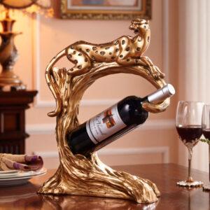 dekorativnye podstavki pod vinnuyu butylku leopard chanshen 01