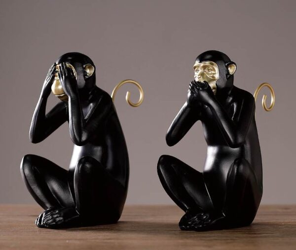 Dekorativnaya statuetka Midzaru Chanshen Skandinavskij stil 05