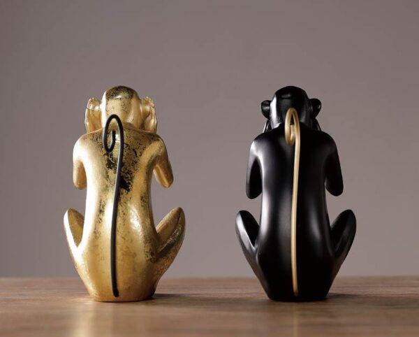 Dekorativnaya statuetka Midzaru Chanshen Skandinavskij stil 06