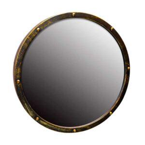 krugloe zerkalo jing yang v kovanoj rame 50 sm 01