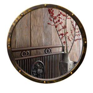 krugloe zerkalo jing yang v kovanoj rame 50 sm 02