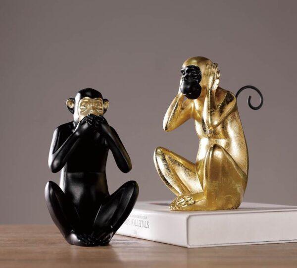 Dekorativnaya statuetka Midzaru Chanshen Skandinavskij stil 04