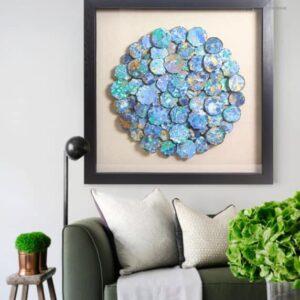 abstraktnaya kartina czvetnaya mozaika snnei 11