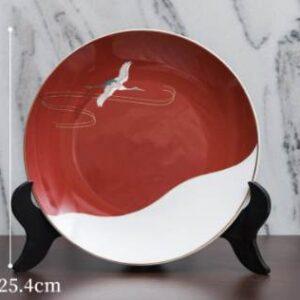 dekorativnaya tarelka zakat early morning novyj kitajskij stil 7