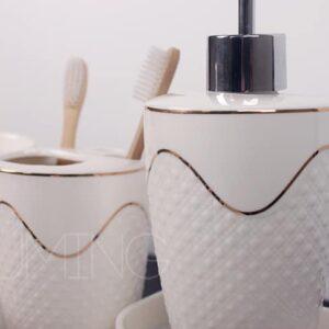 nabor dlya tualetnyh prinadlezhnostej gold wave dommu 2