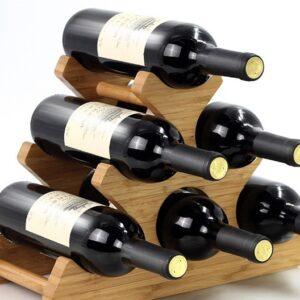 podstavka pod vino bamboo lierin 10