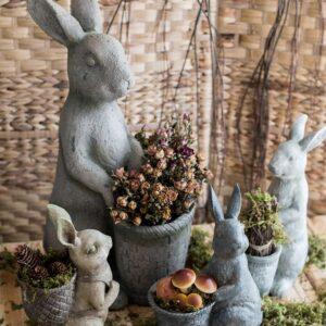 czvetochnyj gorshok dekorativnyj rabbit juhan 6