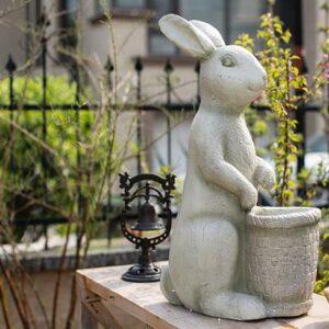 czvetochnyj gorshok dekorativnyj rabbit juhan 7