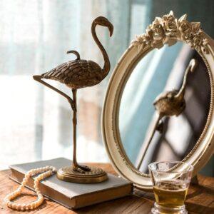 dekorativnaya shkatulka golden flamingo juhan 5