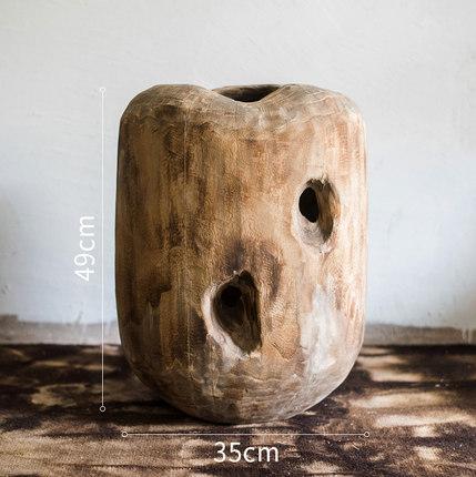 dekorativnaya vaza derevyannaya sterm juhan 7