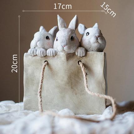 dekorativnyj czvetochnyj gorshok bunnies juhan 6