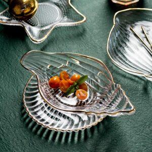 desertnaya tarelka steklyannaya seashell xingning 3