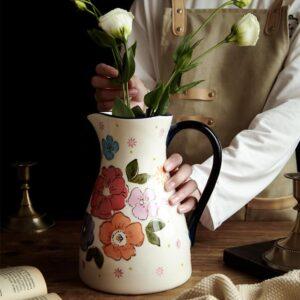 kuvshin keramicheskij flowers xingning 1