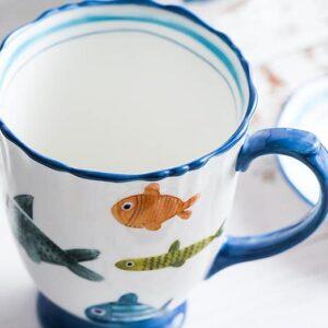miska keramicheskaya colour fish xingning 1