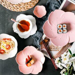tarelka desertnaya farforovaya cherry bloom xingning 1