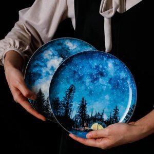 tarelka keramicheskaya starry blue xingning 3